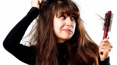 La chute de cheveux